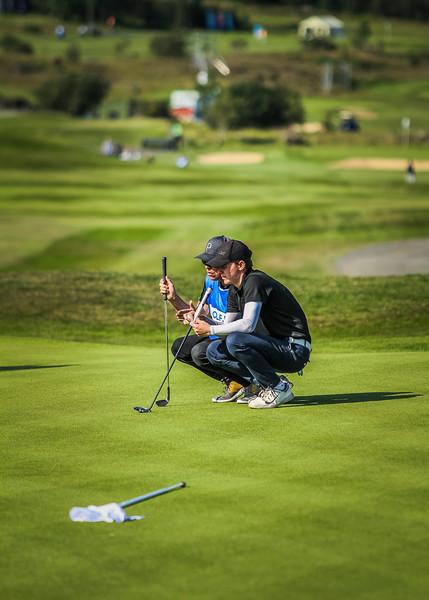 GOS, Pétur Sigurdór Pálsson. Íslandsmót í golfi 2019 - Grafarholt 2. keppnisdagur Mynd: seth@golf.is