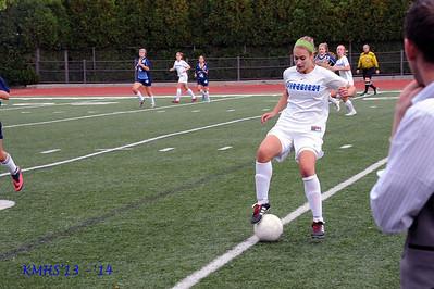 Girls JV Soccer 10-1-13MrPlevritis & T Caravello10C