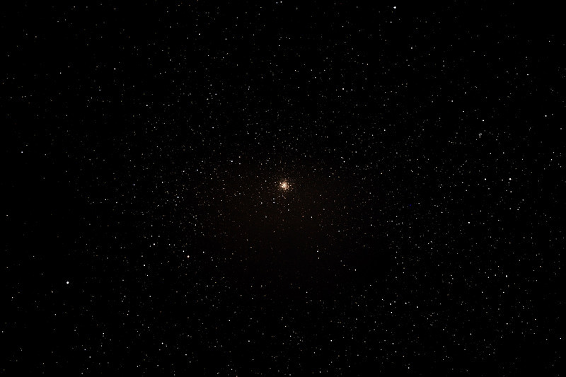 Messier M9 - NGC6333 - Globular Cluster in Ophiuchus - 12/07/2013 (Processed stack)