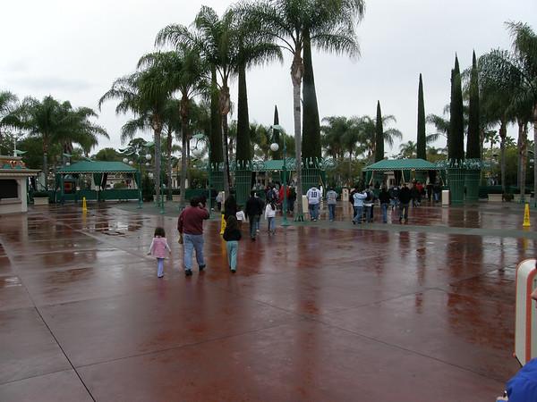 Disneyland January 2008