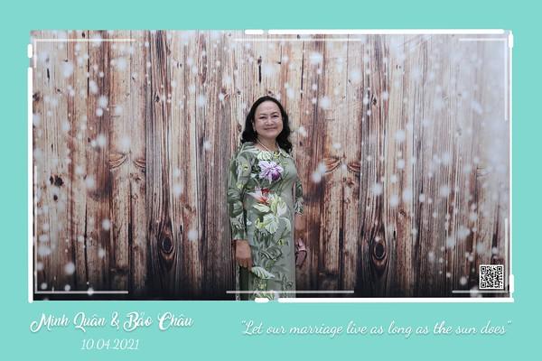 Minh Quân & Bảo Châu wedding instant print photo booth @ Luxury Palace | Chụp hình lấy li�n in ảnh lấy ngay Tiệc cưới tại TP HCM | WefieBox Photobooth Vietnam