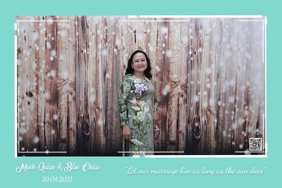 Minh Quân & Bảo Châu wedding instant print photo booth @ Luxury Palace | Chụp hình lấy liền in ảnh lấy ngay Tiệc cưới tại TP HCM | WefieBox Photobooth Vietnam