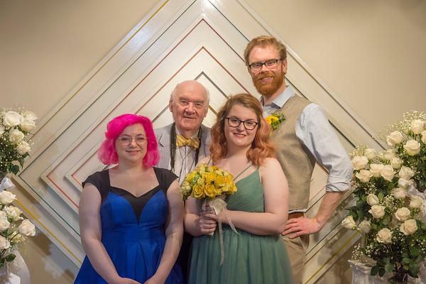 Wedding at Grandpa's 2018