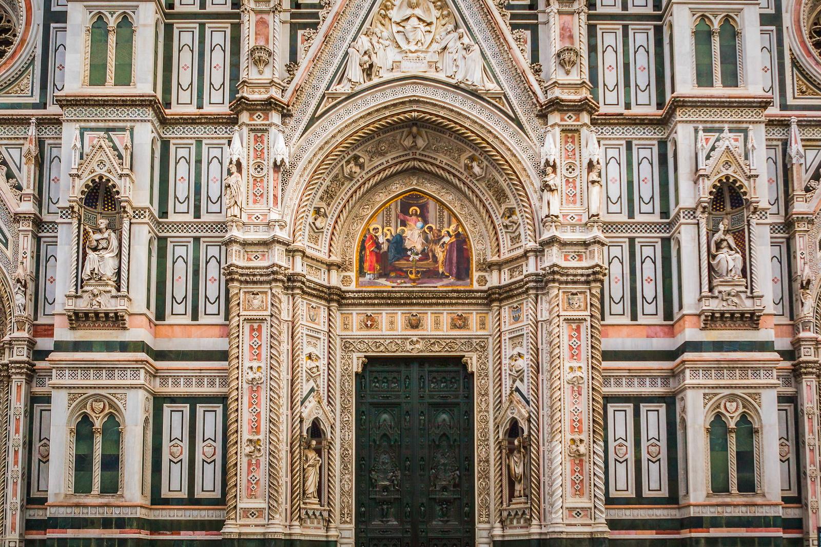 意大利佛罗伦斯主教堂,外饰登峰造极