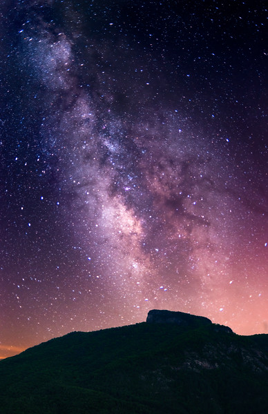 Milky Way over Table Rock