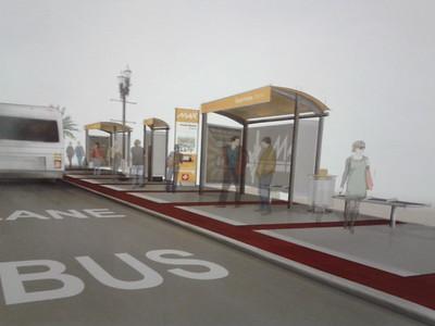 JTA DOWNTOWN BRT PLANS & GENERAL BRT IMAGES