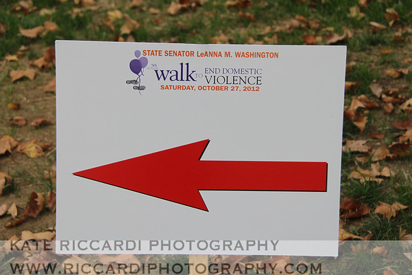 Walk to End Domestic Violence 2012
