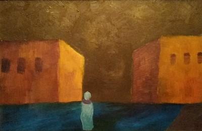 """""""Solitude"""" (oil on canvas) by Paruyr Arabajyan"""