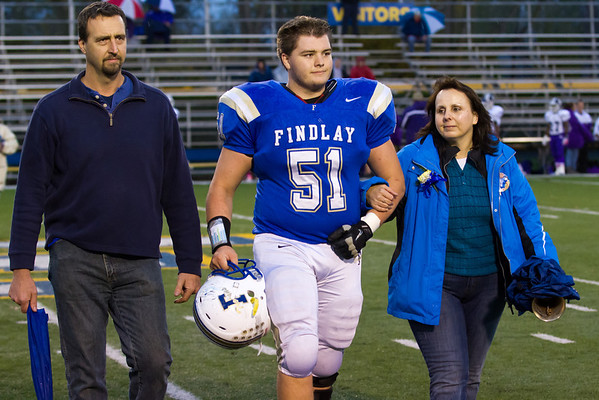 Findlay Senior Night 2012