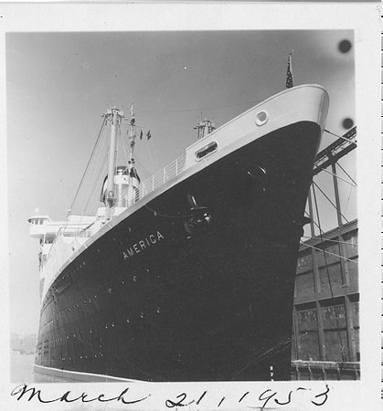 SS America March 21, 1953