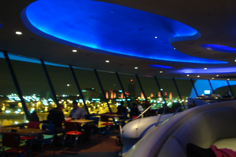Dinner at the famous Encounter Restaurant at LAX