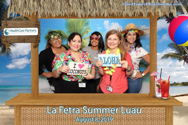 La Fetra Summer Luau 2019