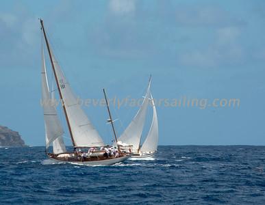 Mah Jong under sail