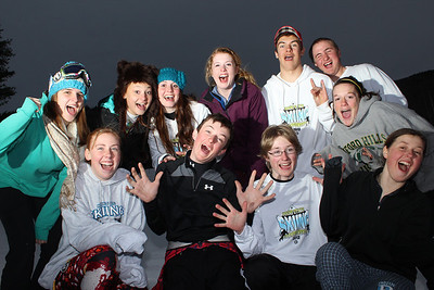 2012 Ski Race Candids