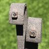 .52ctw Asscher Cut Diamond Bezel Stud Earrings, 18kt Rose Gold 4