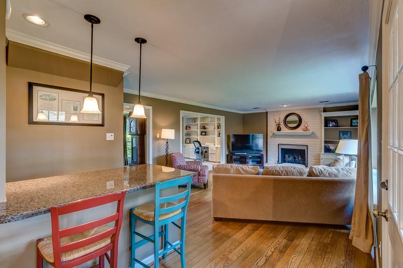 Bar & Living Room