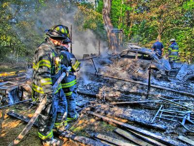 5-17-12 Mutual-Aid Structure Fire, Spruce Lane, Garrison
