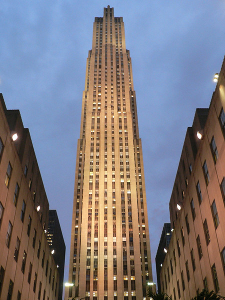 Rockefeller Center standing tall