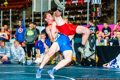 Greco - Part 1 - Cadet & Junior Greco - USA Wrestling Central Regionals 5-22-16