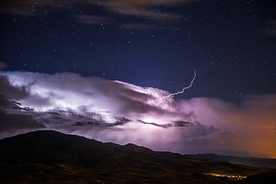 Snowbasin lightning