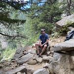 Fritz 07172020 Boulder Canyon Climbing