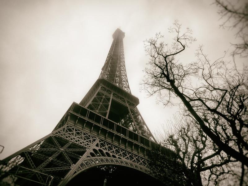 Vintage Eiffel Tower 2