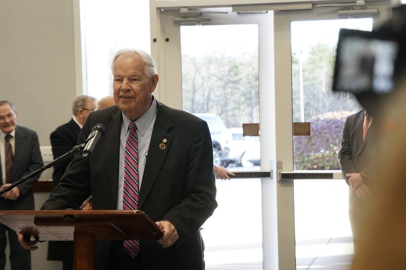 Dr. Bonner's Retirement Ceremony