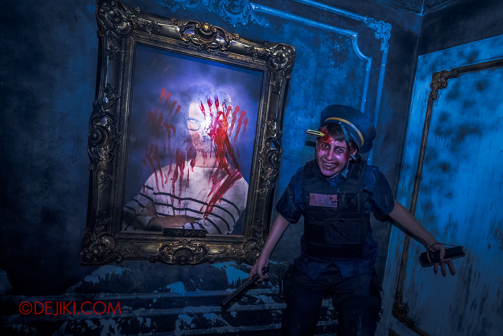 Halloween Horror Nights 6 - Bodies of Work / Shipman Gallery policeman