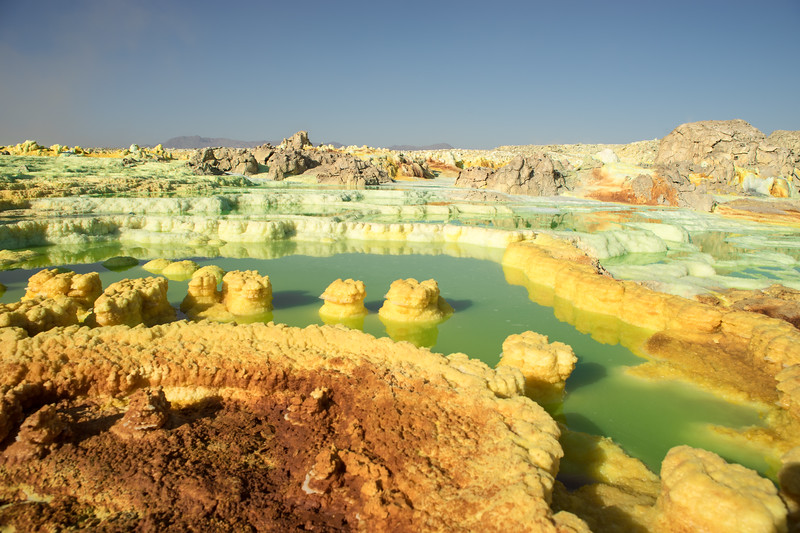 Dallol Sulphur Springs : Danakil Depression