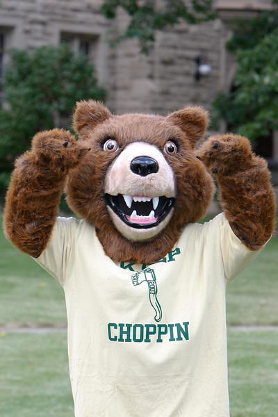 Mascot (The Rocky Bear)