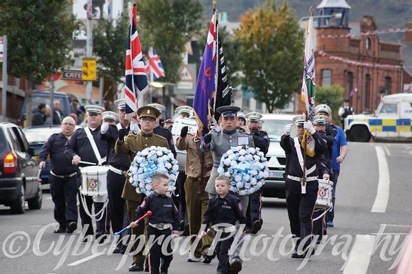 Young Conway Volunteers Parade