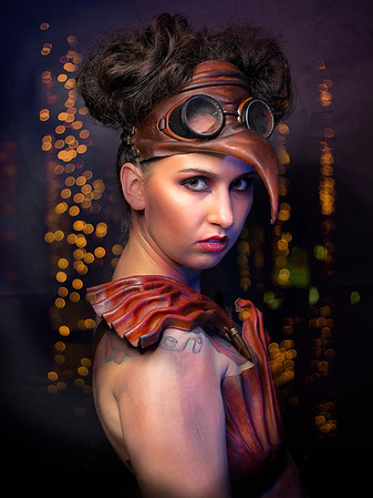 Steampunk, Hero photoshoot