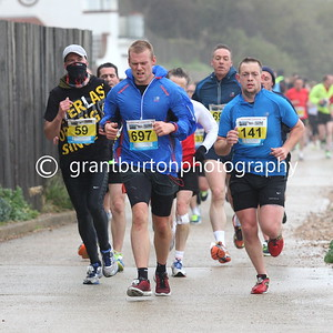 Outward Run - Folkestone 10k - 2015