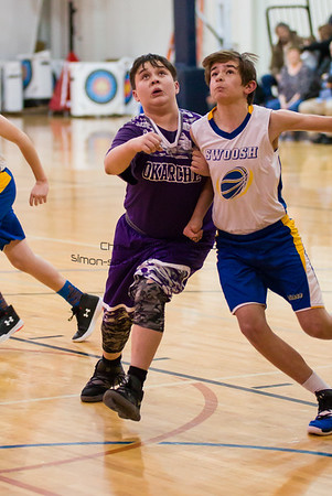 OKARCHE JR HIGH BASKETBALL @ ELRENO FEB 10 2019