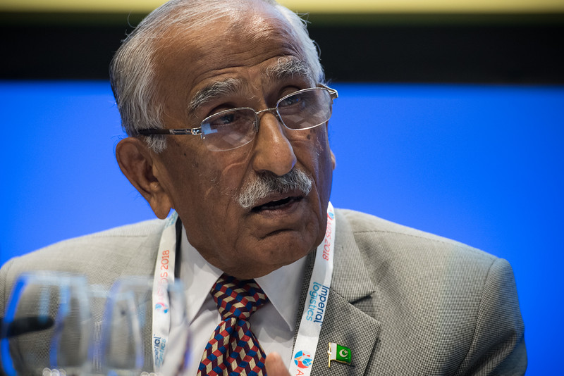 22nd International AIDS Conference (AIDS 2018) Amsterdam, Netherlands   Copyright: Marcus Rose/IAS  Photo shows: TB 2018: Bridging the TB and HIV Communities. Discussion: Towards the UN High-Level Meeting on TB Yousaf Shaikh, National Ministry of Education, Pakistan.