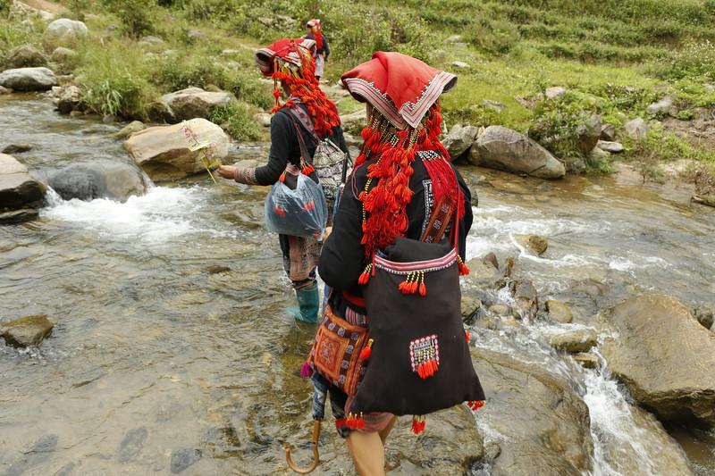 Crossing a stream - no problem