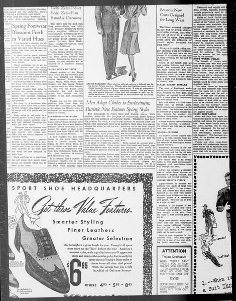 Daily Trojan, Vol. 33, No. 98, January 27, 1942
