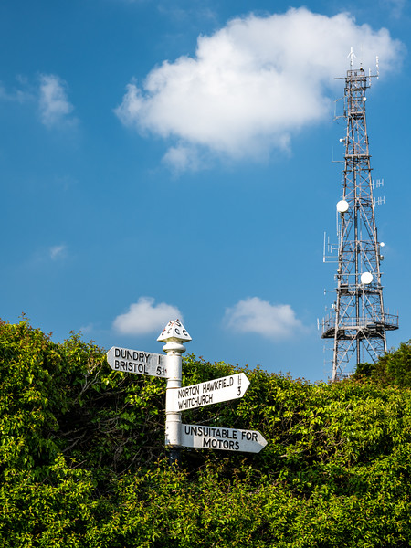Somerset fingerpost
