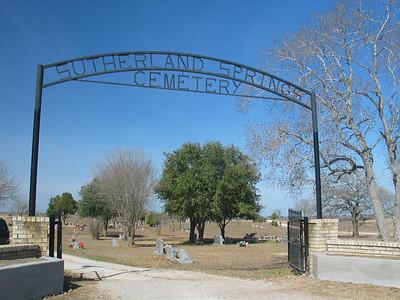 Sutherland Springs Cemetery, Sutherland Springs