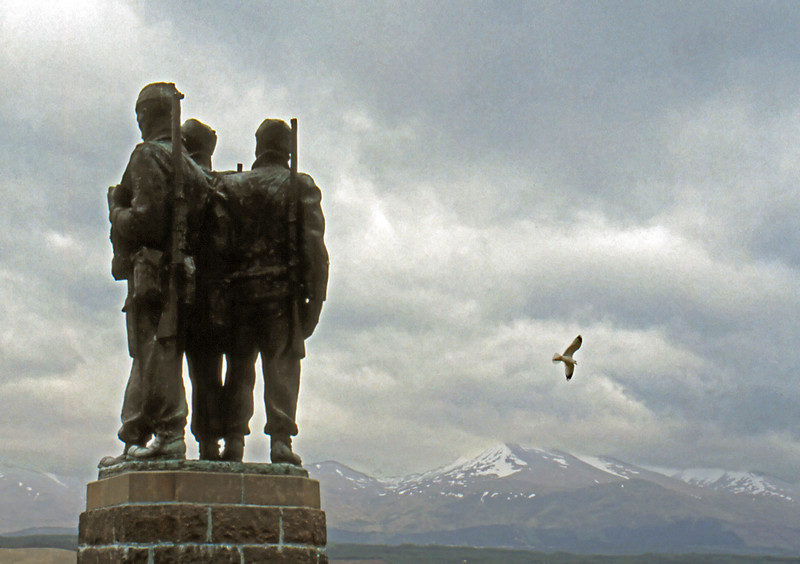 Commando Memorial - Spean Bridge, Scotland, UK - May 14, 1989
