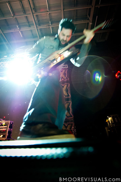 Dean Bernardini of Chevelle performs on December 5, 2010 during 97X Next Big Thing at 1-800-ASK-GARY Amphitheatre in Tampa, Florida