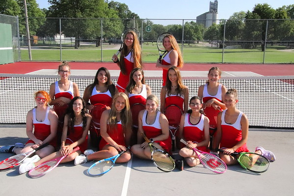 WHS Girls Tennis Team Pics 082718
