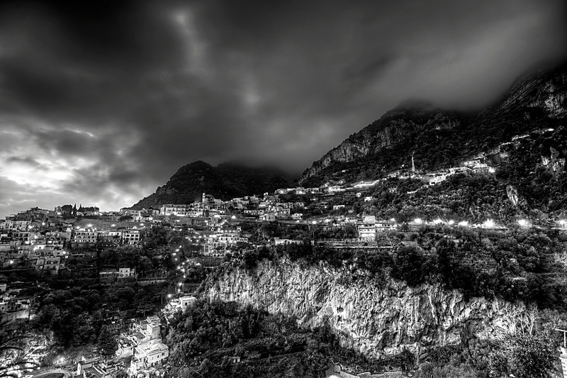 Positano Mountain (B&W).jpg