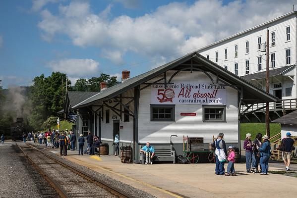 Cass Scenic Railroad 50th Anniversary