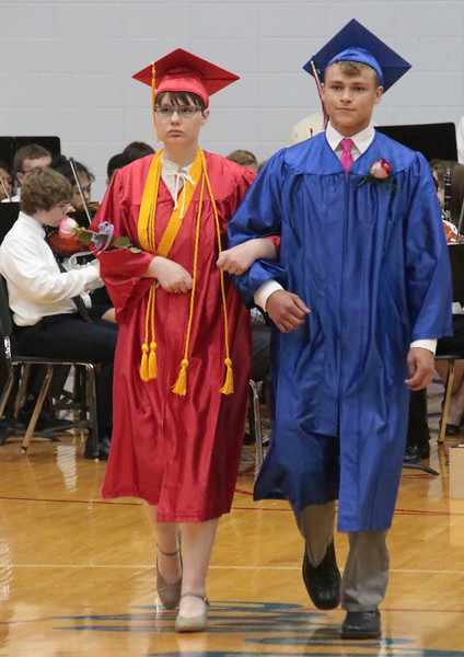 2017 West Noble High School graduation