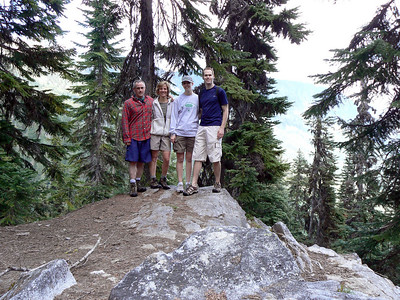 2009.06.07 Merrit Lake Hike with Jason & Amy