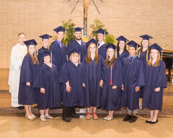 2013 Graduation St. Mary's