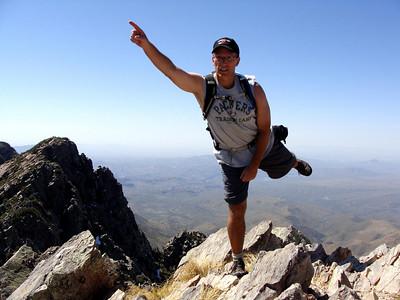 Brown's Peak Summit Hike, 3-21-09