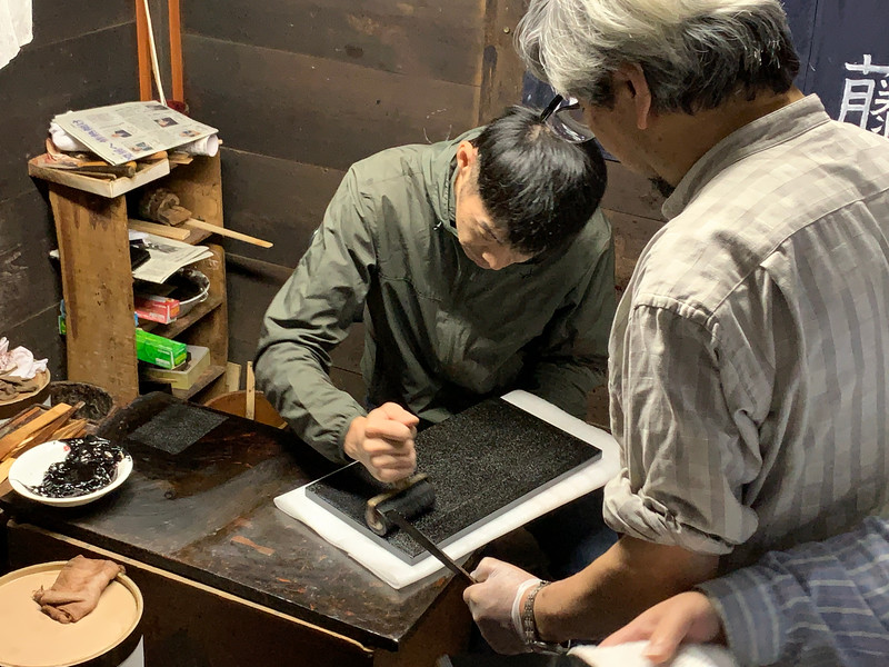 "In creating lacquerwear it is common to use urushiol, or sap, from Toxicodendron vernicifluum or ""Japanese lacquer tree""."