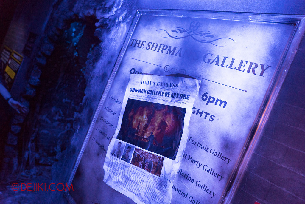 Halloween Horror Nights 6 - Bodies of Work / Shipman Gallery News
